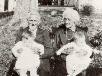 Robert Lee and Rebecca Hoskinson - Gertrude's parents