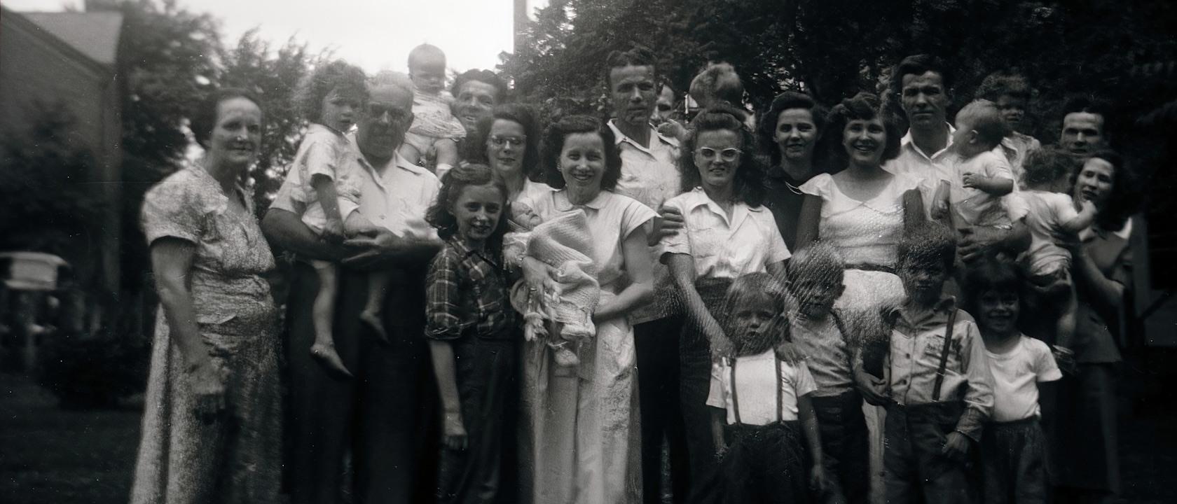 Akron Ohio – Finley Family Reunion 1950