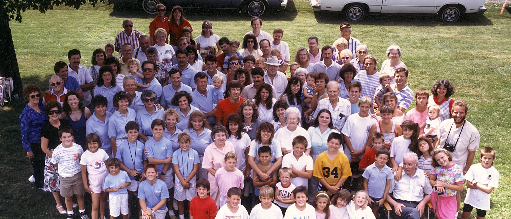 Uniontown Ohio 1989 – Finley Family Reunion